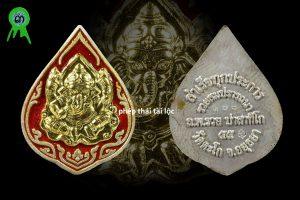 Rian Thần Ganesha ( Thần Voi ) Vàng bạc nguyên khối