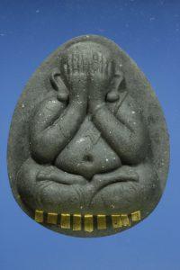 Phật Pidta Jumbo Mahalap BE2554 9 thanh Takrut vàng Pim Kamakan