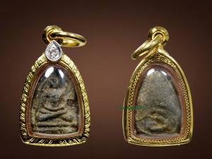 Phật  – Chùa Wat Tai Talak – Hơn 200 năm- Đính kim cương