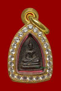Amulet Phật Somdej- Đính Kim Cương