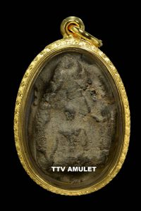 Amulet thần Khun Phaen cổ  trăm năm